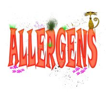 allergens-typography