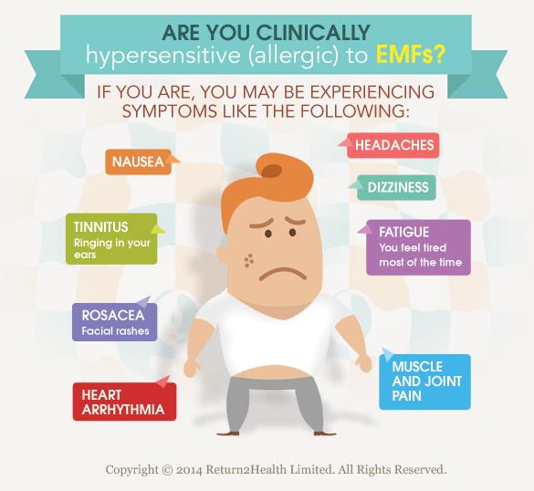 Symptoms Of Emf Exposure